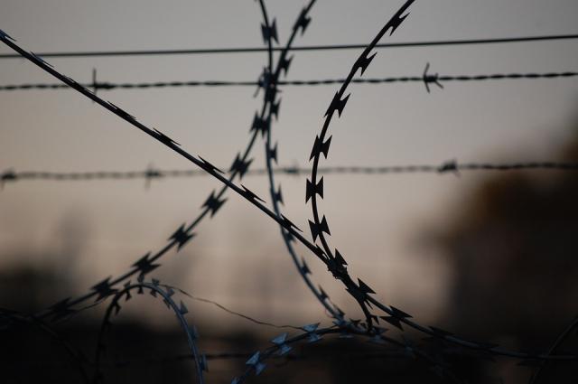 Заключенные каким-то образом делают из кипятильников электроплиты.