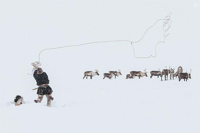 «Меткий бросок» получил приз зрительских симпатий. Место съёмки - полуостров Ямал.