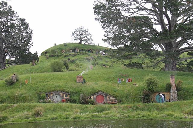 Хоббитания, Новая Зеландия.