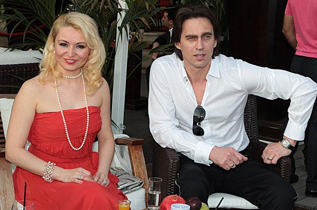 Катя Лель с супругом. 2011год