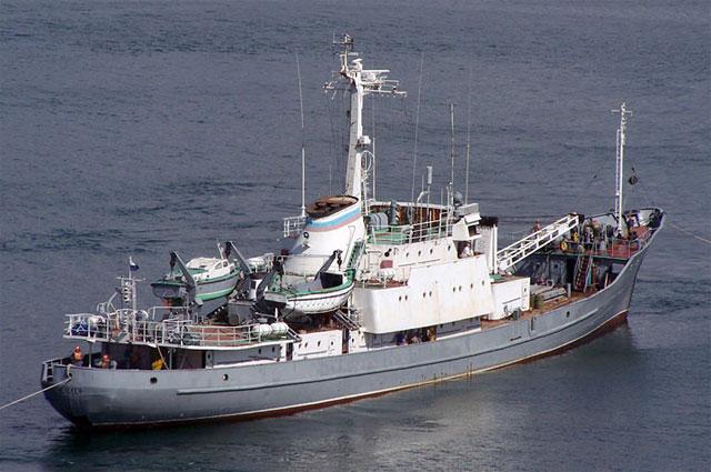 Гидрографическое судно Челекен