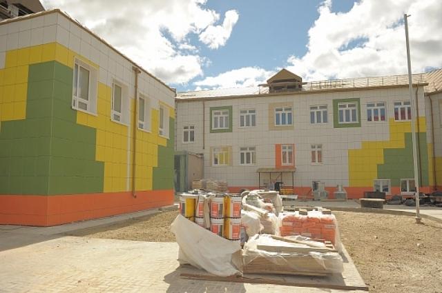Новый детский сад станет самым крупным дошкольным учреждением в городе