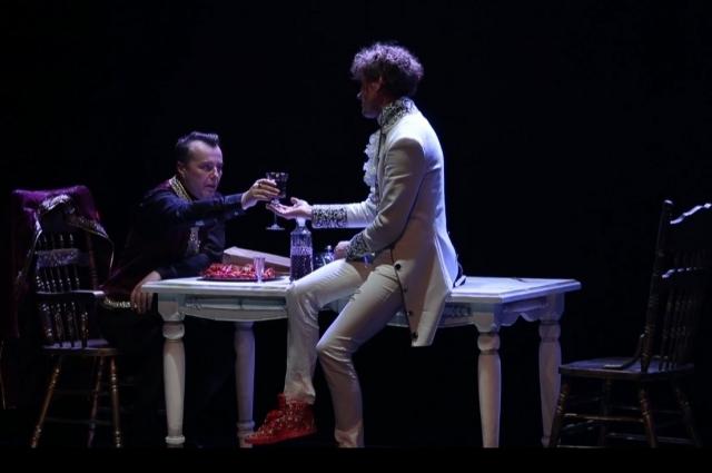 Пушкин, Моцарт и Сальери.