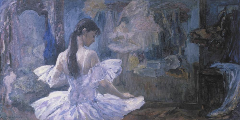Репродукция картины Валерия Косорукова «Екатерина Максимова».
