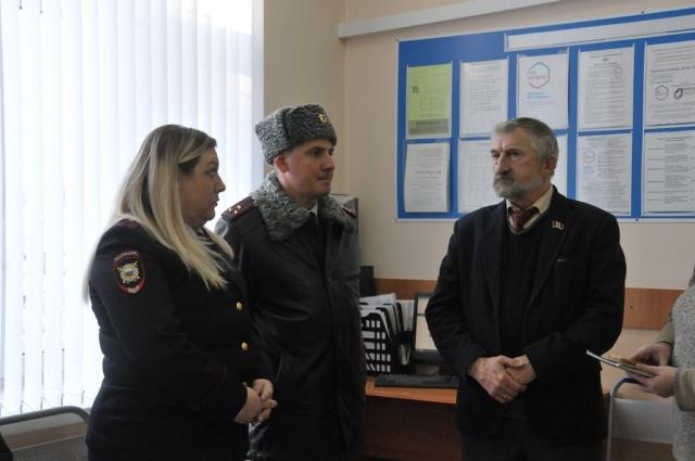 Георгий Гиоргадзе и Михаил Машкарин работой отделения остались довольны.