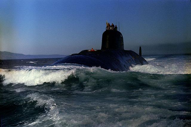 Атомная подводная лодка проекта 671 «Ёрш».