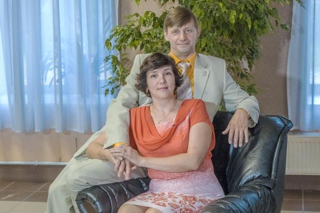 Мадина Максумовна и Владимир Леонидович Косовы