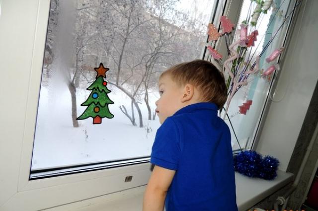 А когда Дед Мороз придёт в гости?