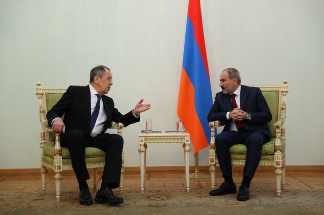 Переговоры с премьер-министром Республики Армения Н.В.Пашиняном.