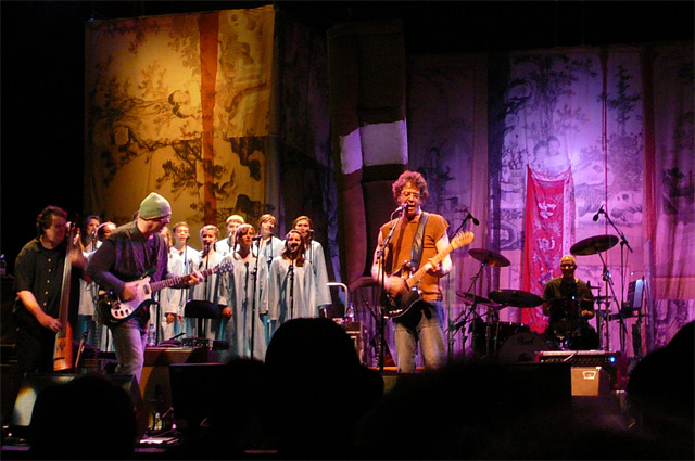 Лу Рид на концерте в Стокгольме в 2008 году