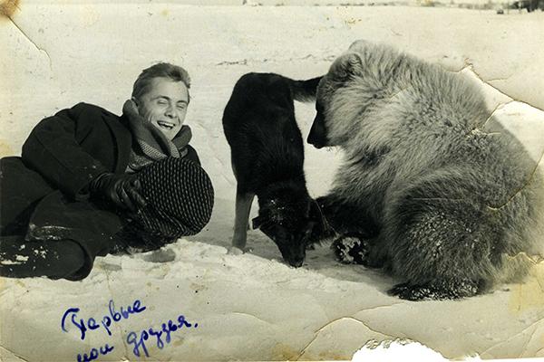 «Первые мои друзья», - так подписал этот снимок Александр Гиль.