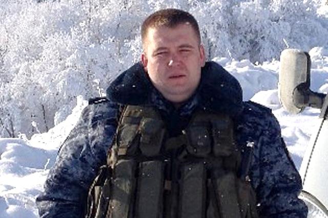 Капитан Олег Атылин.