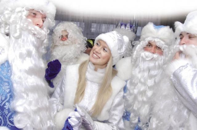 Роль Деда Мороза не так сложна.