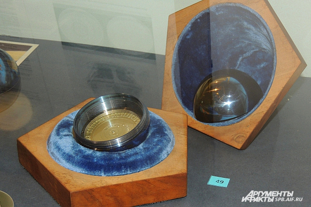 Вымпелы для Марса и Венеры запускались в титановом шаре.