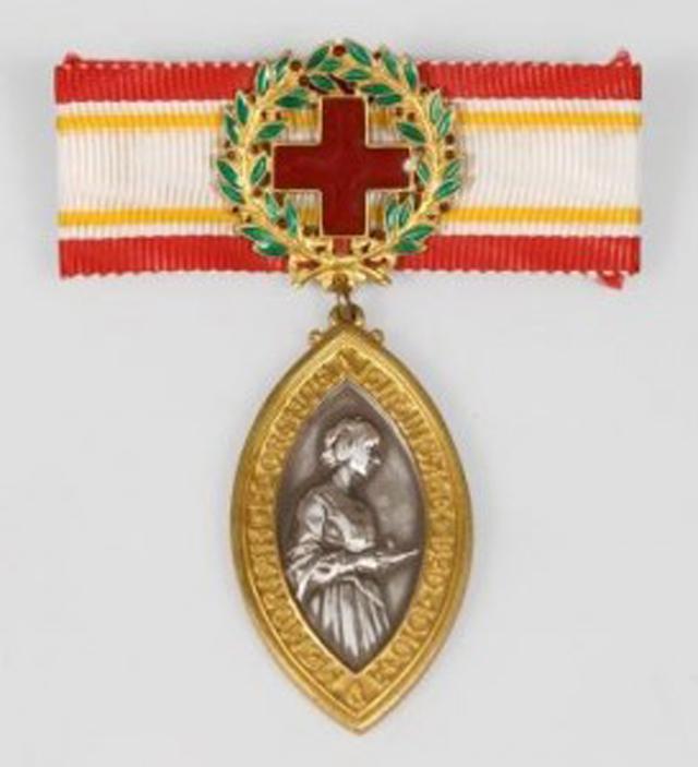 Медаль имени Флоренс Найтингейл.