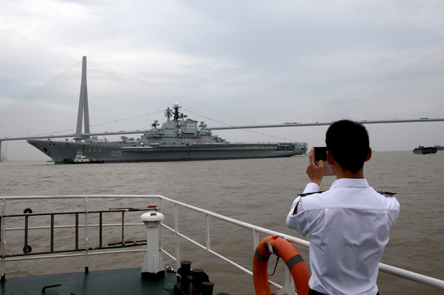 Тяжелый авианесущий крейсер «Минск».