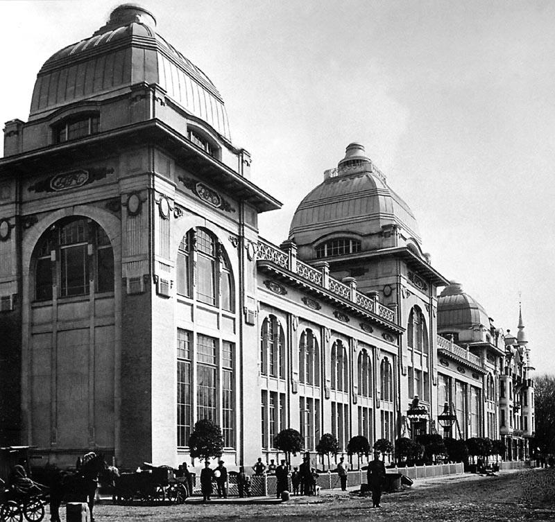 Здание «Яра», построенное Адольфом Эрихсоном. 1909—1913 гг.