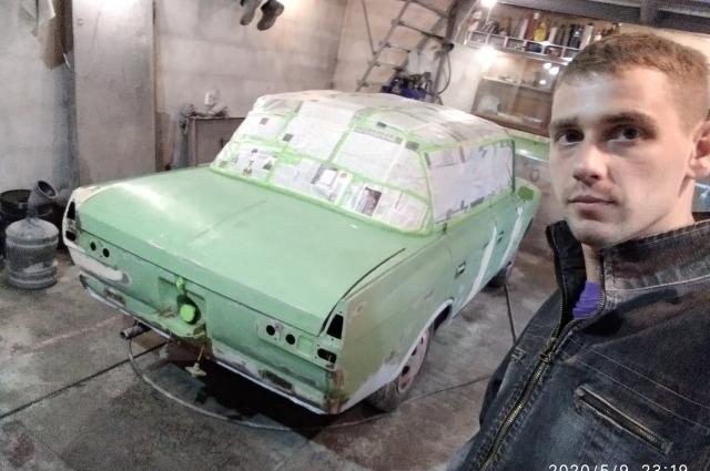 Москвич-412 изначально был цвета липы.