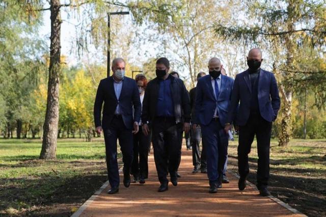 Глава города оценил, как реализуется проект «Формирование комфортной городской среды» в Зелёной Роще.