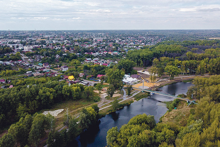 Благодаря нацпроектам Мичуринск развивается по всем важнейшим направлениям.