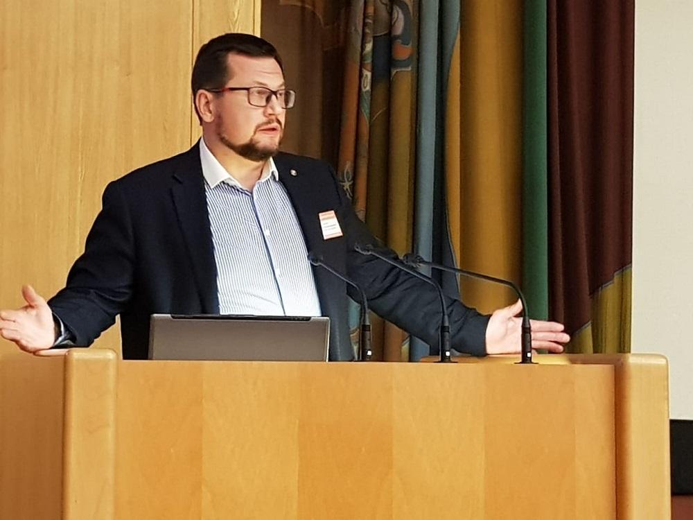 Президент Российского союза пекарей, управляющий АО «Владимирский хлебокомбинат» (группа компаний «Delavant») Алексей Лялин
