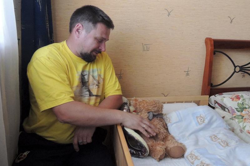 Кровать Жоры с любимым медвежонком опустела