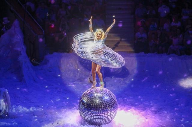 Обладательница титула «Принцесса Российского цирка» Татьяна Махортова.