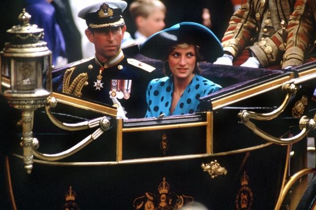 Принц Чарльз и принцесса Диана. 1989 год