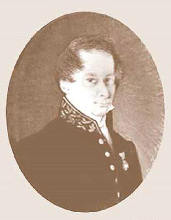 Портрет Василия Садовникова.