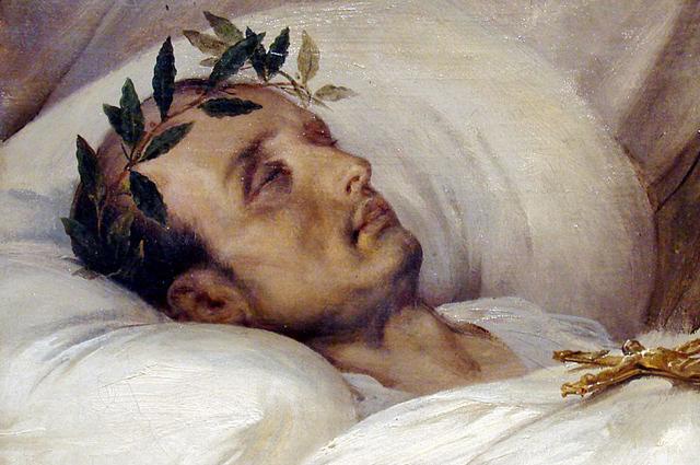 Наполеон на смертном одре. Верне (1826)