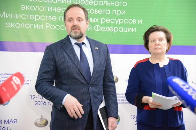 Сергей Донской и Наталья Комарова.