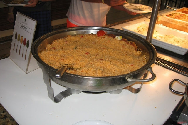 Коронное блюдо Туниса - кускус.
