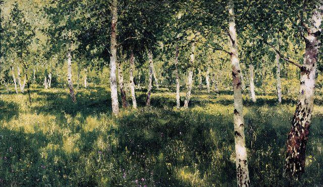 Один из главный русских пейзажей, исполненный Левитаном.