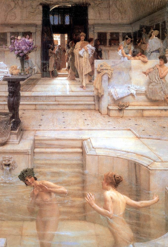 Лоуренс Альма-Тадема «Любимое занятие», 1909 год