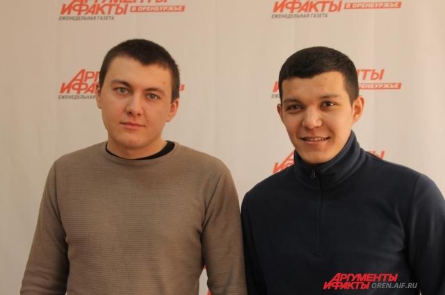 Максим Заморский (слева) и Булат Байров (справа).