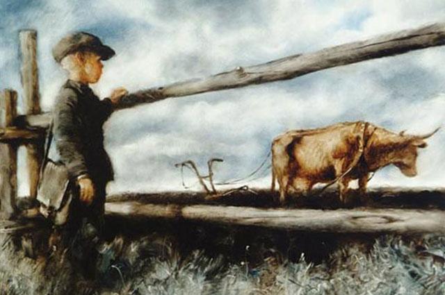 Кадр из мультфильма «Корова».