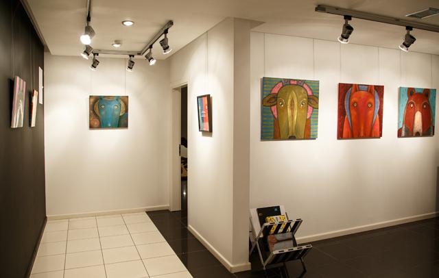 Выставка Лены Грызуновой «Антропоморфы».