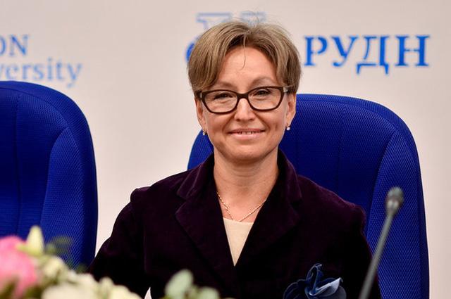 Начальник Управления по связям с общественностью Департамента здравоохранения Москвы Светлана Браун.