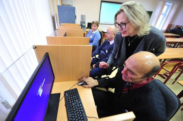 Одна из самых востребованных программ в университете - компьютерная грамотность.
