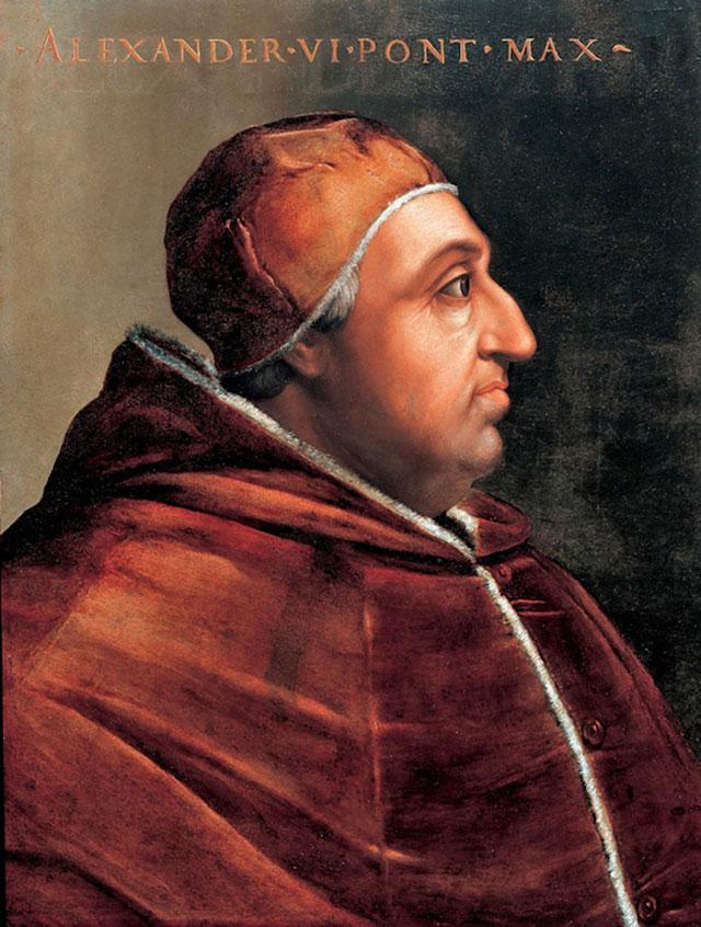 Папа римский Александр VI.