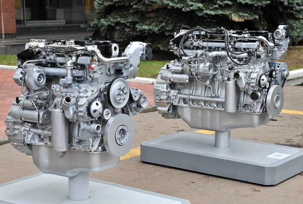 Газовые двигатели ЯМЗ-530.