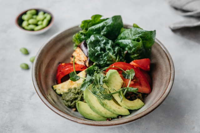 Салат «Боул вегетарианца»