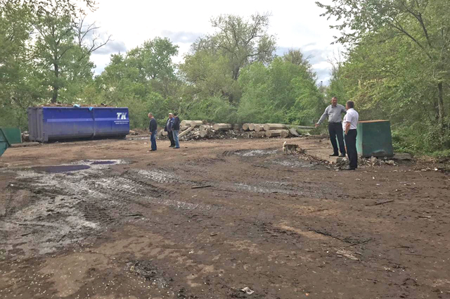 Свалка на месте бывшего концлагеря в Калаче-на-Дону Волгоградской области ликвидирована.