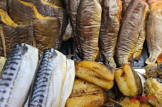 Главный сувенир из Мурманска - это рыба