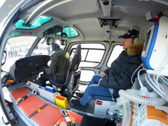 Полёт пациенты перенесли хорошо.