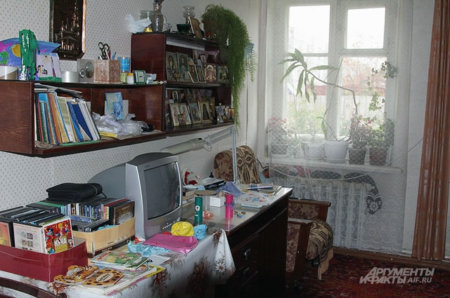 Все, кроме одной, комнаты в доме совсем крошечные