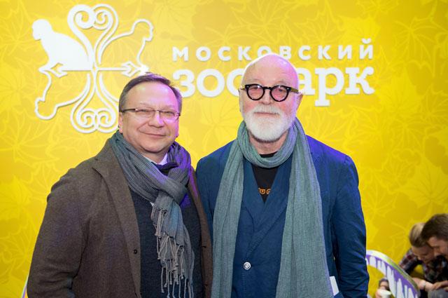 Продюсер Игорь Угольников и режиссер Ираклий Квирикадзе.