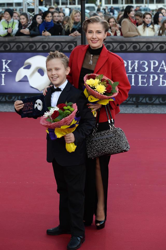 Ирина Линдт с сыном, 2014 год