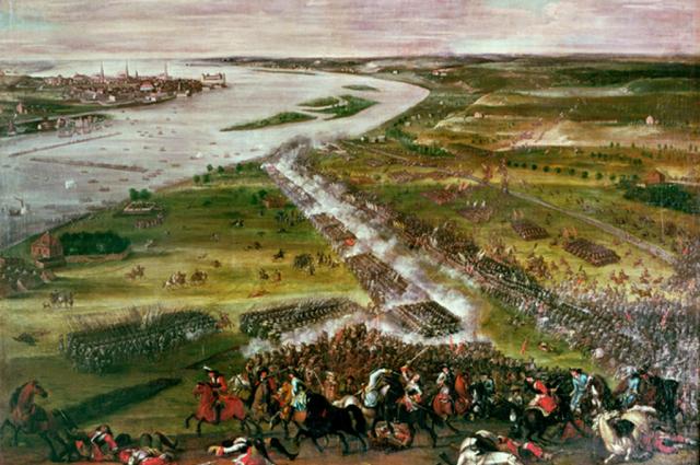 Шведы не ожидали яростного отпора русских.