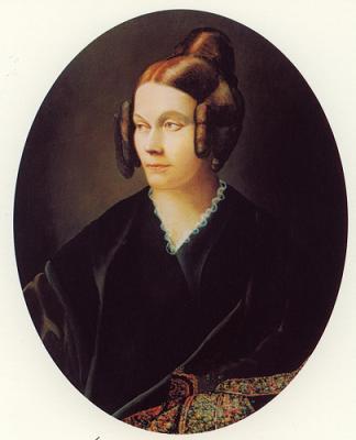 Портрет Софьи де Сегюр работы её сына, Луи-Гастона де Сегюра. Ок. 1840 г.